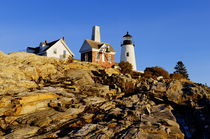 Pemaquid Point Lighthouse, Maine, USA by John Greim