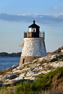 Castle Hill Lighthouse, Newport, RI by John Greim