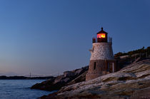 Castle Hill lighthouse, Newport, RI von John Greim