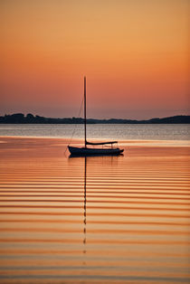 Sunse Sailboat by John Greim