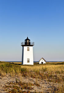 Long Point Lighthouse, Provincetown, Cape Cod, USA von John Greim