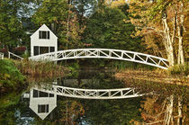 Footbridge, Somesville, Maine, USA by John Greim
