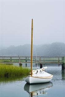 Lone boat, Cape Cod, MA, USA von John Greim