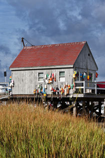 Lobster shack, Maine, USA by John Greim