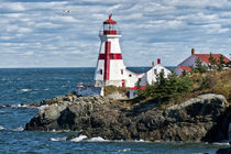 Head Harbour Lighthouse, New Brunswick, Canada von John Greim