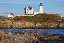 Nubble Lighthouse, Cape Neddick, Maine, USA von John Greim