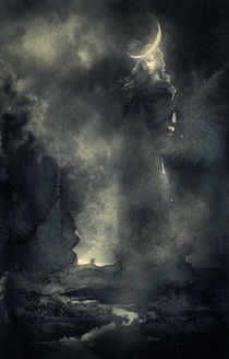 Sister Moon von yaroslav-gerzhedovich
