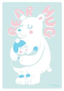 Bear Hug von Samantha Eynon