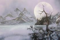Violet Moon von Rozalia Toth
