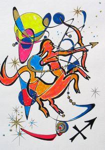 Sternzeichen- Schütze von Dieter Holzner