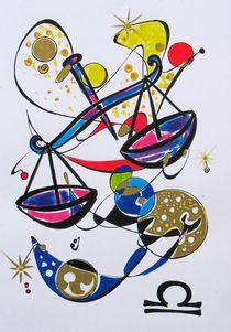 Sternzeichen - Waage von Dieter Holzner