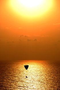 Yellow Parachute von Boris Chernykov