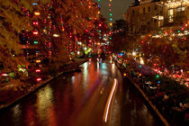 San Antonio Rriverwalk at Christmas. USA, San Antonio  by Irina Moskalev