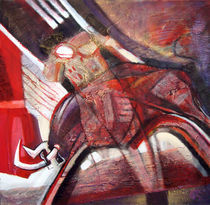 ,,Man, space, time, shape, red '' von Krasimir Rizov