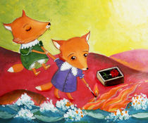 pretty little foxes von Anna Ivanova