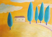 yellow sky von Anna Ivanova