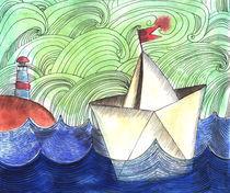 paper ship von Anna Ivanova
