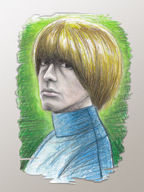 Brian Jones by Martin Sierra