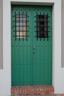 Green door. Old San Juan, Puerto Rico by Irina Moskalev