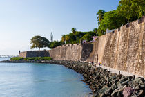 Fort El Morro in Old San Juan, Puerto Rico by Irina Moskalev
