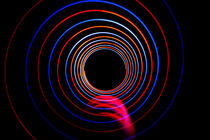 Long exposure light circles by Alex Voorloop