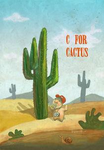 """""""C for Cactus"""" von Koanne Ko"""