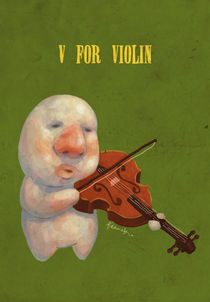 """V for Violin"" von Koanne Ko"