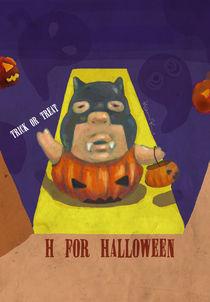 """""""H for Halloween""""  von Koanne Ko"""