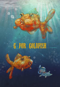 """G for Goldfish""  by Koanne Ko"