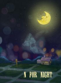 """""""N for Night"""" von Koanne Ko"""