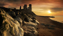 Reculver Towers by Mal Smith