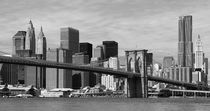 New York Skyline und Brooklyn Bridge by buellom