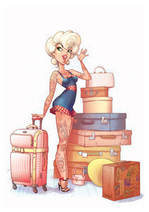 Rockabilly Marilyn by Christian S