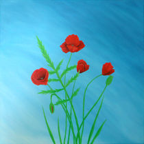 Poppies by farbklecks