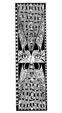 Cat eyes by Eszter Fézler