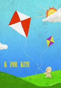 """""""K for Kite"""" von Koanne Ko"""