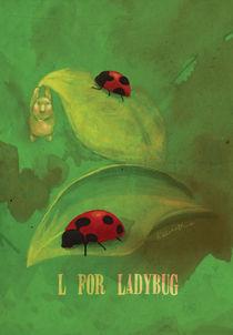 """L for Ladybug"" von Koanne Ko"