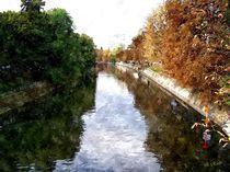 Herbstimpressionen am Berliner Landwehrkanal by Eckhard Röder