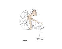 Angelic Reflection by Filip Zywica
