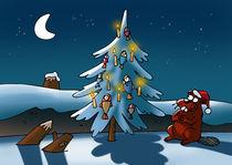 Christmas tree of beaver von Gatis Sluka