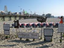 St. Monica Beach, Kalifornien von Baerbel Nitychoruk
