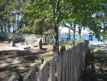 Friedhof am Strand von Sandhamn, Schweden von Baerbel Nitychoruk
