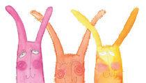 rabbits by Barbara Grzybowska