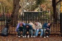 McGolrick Park - 5 Sleeping Men by Michael Bastianelli