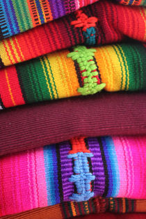 Textile Fabrics from Antigua Guatemala by Charles Harker