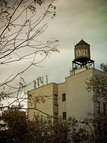 new york city water tower by Darren Martin