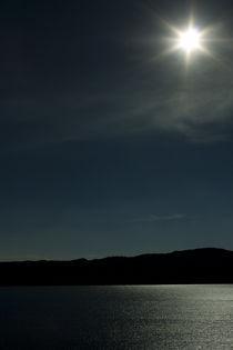 Salt Water Lake Mexico  by Carmen Davila