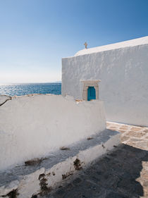 Church - Mykonos, Greece by Colin Miller