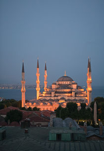 Blue Mosque at Dusk by Colin Miller