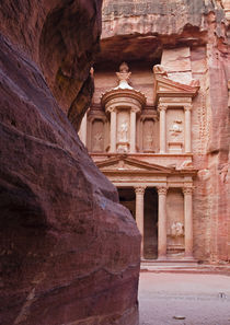 The Treasury - Petra, Jordan by Colin Miller
